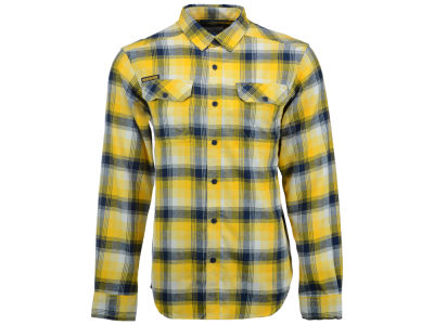 West Virginia Mountaineers Columbia NCAA Men's Flare Gun Long Sleeve Flannel Button Up Shirt