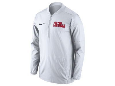 Ole Miss Rebels Nike NCAA Men's Lockdown Half Zip Jacket
