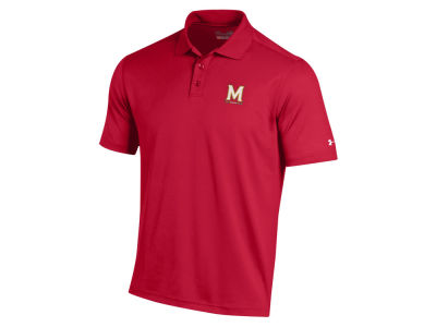 Maryland Terrapins Under Armour NCAA Men's Performance Polo Shirt