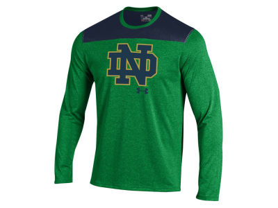 Notre Dame Fighting Irish NCAA Men's Foundation Tech Long Sleeve T-Shirt