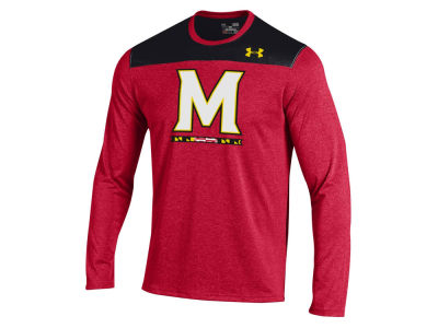 Maryland Terrapins NCAA Men's Foundation Tech Long Sleeve T-Shirt