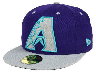 Arizona Diamondbacks New Era MLB Full Heather XL Logo 59FIFTY Cap
