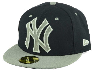 New York Yankees New Era MLB Full Heather XL Logo 59FIFTY Cap