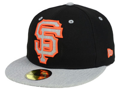 San Francisco Giants New Era MLB Full Heather XL Logo 59FIFTY Cap