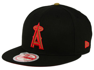 Los Angeles Angels New Era MLB Goldie Logo 9FIFTY Snapback Cap