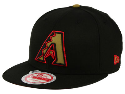Arizona Diamondbacks New Era MLB Goldie Logo 9FIFTY Snapback Cap