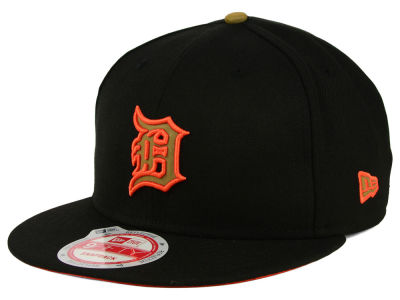 Detroit Tigers New Era MLB Goldie Logo 9FIFTY Snapback Cap