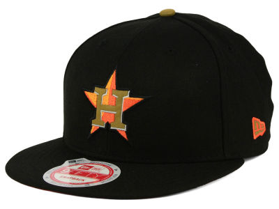Houston Astros New Era MLB Goldie Logo 9FIFTY Snapback Cap