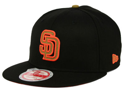 San Diego Padres New Era MLB Goldie Logo 9FIFTY Snapback Cap