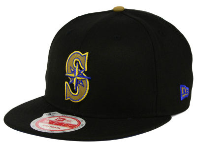 Seattle Mariners New Era MLB Goldie Logo 9FIFTY Snapback Cap