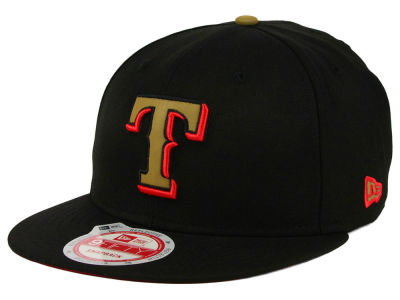 Texas Rangers New Era MLB Goldie Logo 9FIFTY Snapback Cap