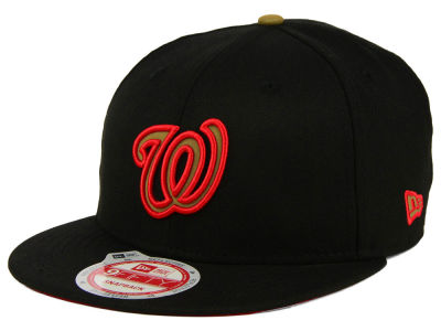 Washington Nationals New Era MLB Goldie Logo 9FIFTY Snapback Cap