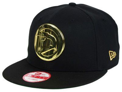 Atlanta Hawks New Era NBA HWC League O'Gold 9FIFTY Snapback Cap