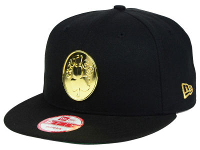 Boston Celtics New Era NBA HWC League O'Gold 9FIFTY Snapback Cap