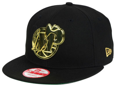 Dallas Mavericks New Era NBA HWC League O'Gold 9FIFTY Snapback Cap