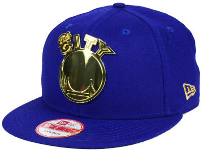 Golden State Warriors New Era NBA HWC League O'Gold 9FIFTY Snapback Cap