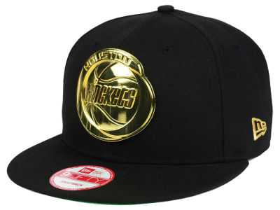 Houston Rockets New Era NBA HWC League O'Gold 9FIFTY Snapback Cap