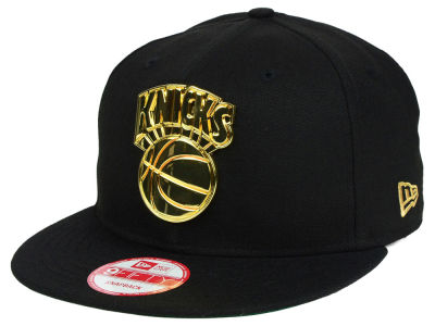 New York Knicks New Era NBA HWC League O'Gold 9FIFTY Snapback Cap
