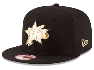 Philadelphia 76ers New Era NBA HWC League O'Gold 9FIFTY Snapback Cap
