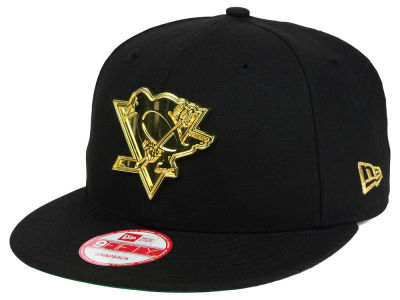 Pittsburgh Penguins New Era NHL League O'Gold 9FIFTY Snapback Cap