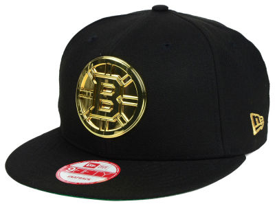 Boston Bruins New Era NHL League O'Gold 9FIFTY Snapback Cap