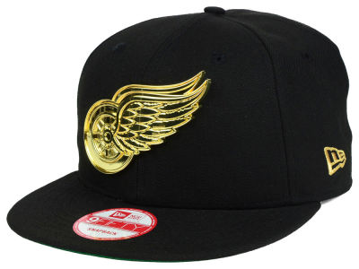 Detroit Red Wings New Era NHL League O'Gold 9FIFTY Snapback Cap
