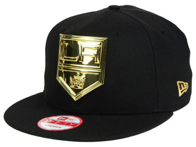 Los Angeles Kings New Era NHL League O'Gold 9FIFTY Snapback Cap