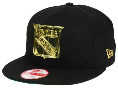 New York Rangers New Era NHL League O'Gold 9FIFTY Snapback Cap