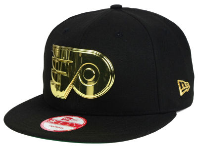 Philadelphia Flyers New Era NHL League O'Gold 9FIFTY Snapback Cap