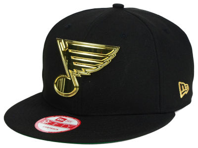 St. Louis Blues New Era NHL League O'Gold 9FIFTY Snapback Cap
