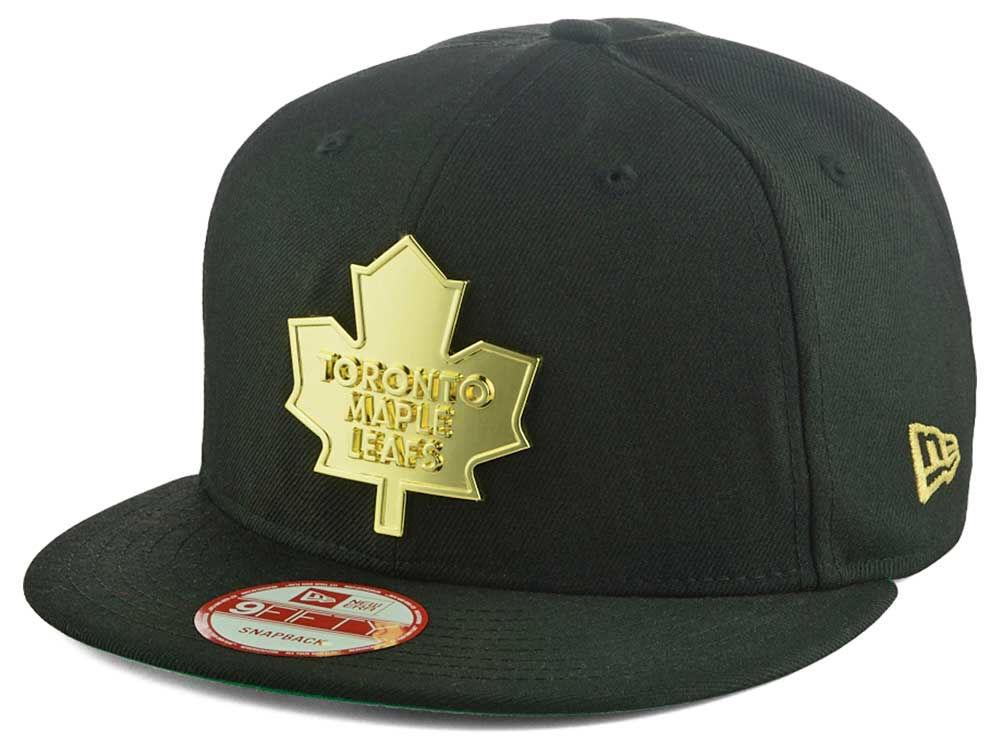 cb795ca6c8f Toronto Maple Leafs New Era NHL League O Gold 9FIFTY Snapback Cap ...