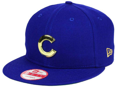 Chicago Cubs New Era MLB League O'Gold 9FIFTY Snapback Cap