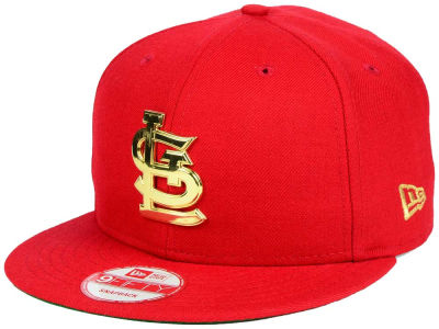 St. Louis Cardinals New Era MLB League O'Gold 9FIFTY Snapback Cap