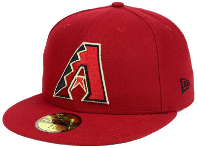 Arizona Diamondbacks New Era MLB Custom World Series Patch 59FIFTY Cap