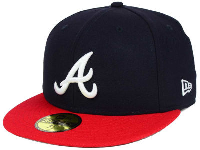 Atlanta Braves New Era MLB Custom World Series Patch 59FIFTY Cap