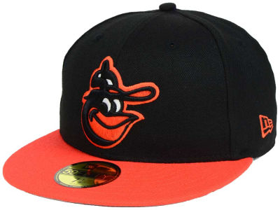 Baltimore Orioles New Era MLB Custom World Series Patch 59FIFTY Cap