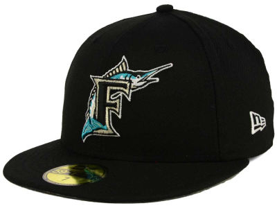 Florida Marlins New Era MLB Custom World Series Patch 59FIFTY Cap