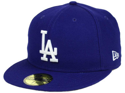 Los Angeles Dodgers New Era MLB Custom World Series Patch 59FIFTY Cap