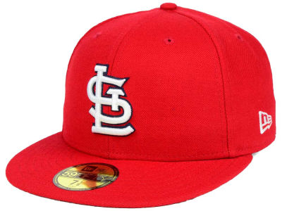 St. Louis Cardinals New Era MLB Custom World Series Patch 59FIFTY Cap