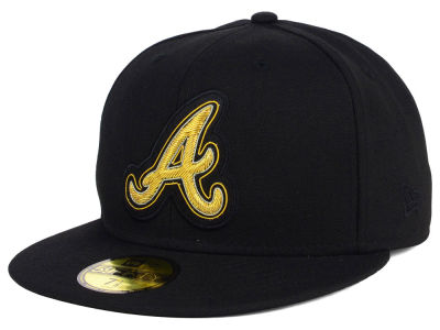Atlanta Braves New Era MLB Beaded Logo 59FIFTY Cap