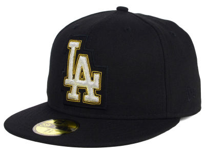 Los Angeles Dodgers New Era MLB Beaded Logo 59FIFTY Cap