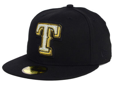 Texas Rangers New Era MLB Beaded Logo 59FIFTY Cap