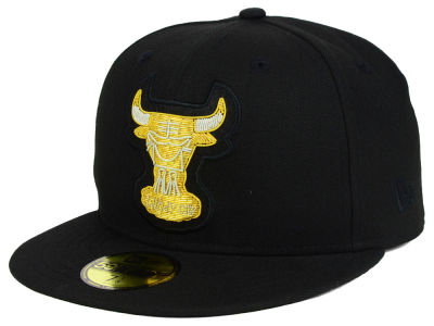 Chicago Bulls New Era NBA HWC Beaded Logo 59FIFTY Cap