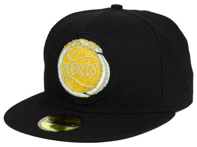 Houston Rockets New Era NBA HWC Beaded Logo 59FIFTY Cap