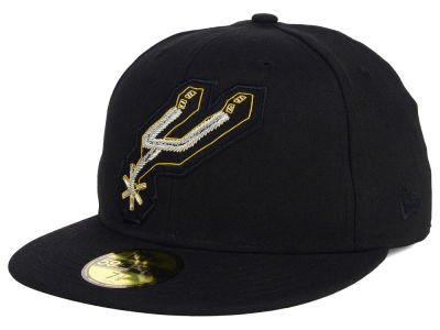 San Antonio Spurs New Era NBA HWC Beaded Logo 59FIFTY Cap