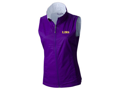 LSU Tigers Columbia NCAA Women's Powder Puff Vest
