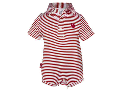 Oklahoma Sooners NCAA Infant Carson Polo Creeper