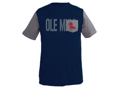 Ole Miss Rebels NCAA Youth Jared Color Block Pocket T-Shirt