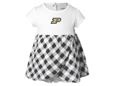 Purdue Boilermakers NCAA Toddler Girls Miranda Gingham Dress