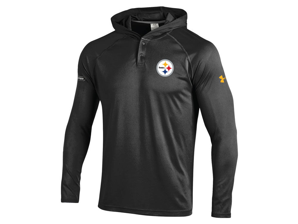 d92e566f1 Pittsburgh Steelers Under Armour NFL Men s Tech Hoodie
